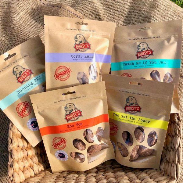 Bugsy's dog treats
