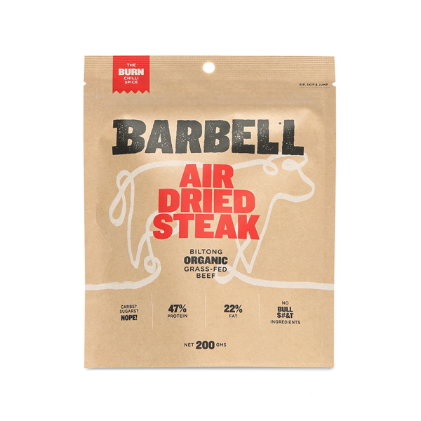 Barbell Air Dried Steak