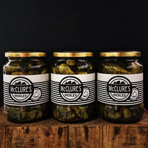 McClures Whole Spicy Pickles